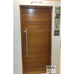 abertura puerta exterior madera oblak grandis mod cm