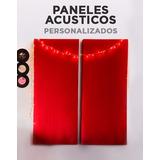 Panel Acustico 50x100 - Lana De Vidrio