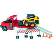 Caminhão Mb Sprinter + Minicarregadeira Caterpillar 1:16