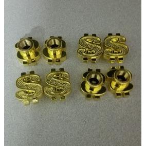 Tapones De Signo De Pesos Oro