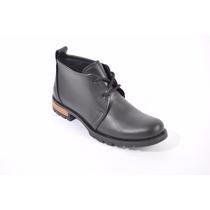 Bota /borcego/zapato De Hombre.cuero Campus Art: 5001.
