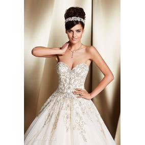 Vestido De Novia Bridenformal Rania Excelente Estado