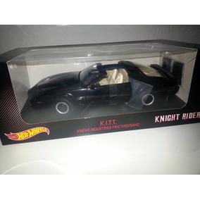 Kitt Hot Wheels El Auto Increible Escala 1:18 Knight Rider