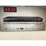 Dvd Reproductor Akai Con Radio Fm Dvd-4010 (en Almagro)