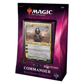 Magic Commander 2018 Deck Realidade Subjetiva Portugues