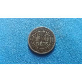 Moeda 100 Réis 1888 Cuproníquel Império Do Brasil