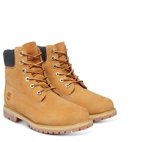 Bota Timberland Feminina Yellow Boot Original Nova