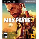 Max Payne 3 Ps3 Digital Tenelo Hoy!!