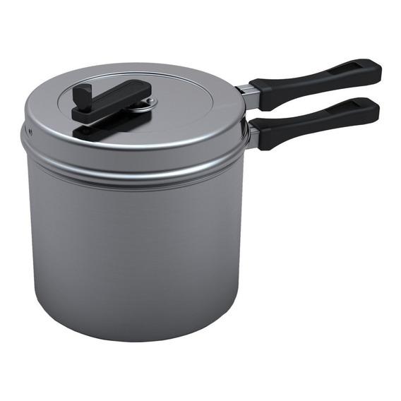 Olla Pochoclera De Aluminio 5 L Para Pochoclos Dulces Y Salados + Medidor