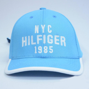 Boné Tommy Hilfiger 1985 Aba Curva Masculino - Azul Claro c0d25ff6302