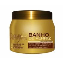 Forever Liss - Banho De Verniz Hidratação Extra Brilho 250g