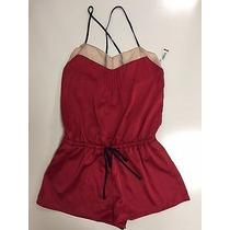 Romper Pijama Baby Doll Jumper Cosmopolitan Rojo M