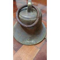 Campana Bronce Antigua Ferrocarril