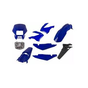 Carenagem+farol Bros 125 Azul 2003/2004 Kit Completo