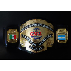 Cinturón De Campeonato Cmll. Lucha Libre. (juguete)