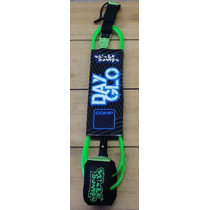 Leash Neon Tabla De Surf 5.6 Pies Comp Marca Stickybumps