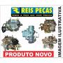 Carburador Vw Santana 2.0 88/92 3e Quant