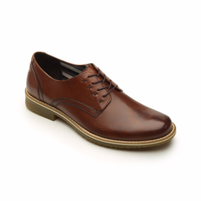 Calzado Zapato Flexi 92401 Cafe Casual Oficina Vestir Salir