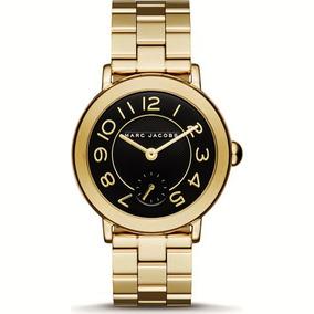 Reloj Marc Jacobs Original Y Nuevo Mj3512 Tono Oro