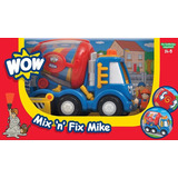 Wow Mix N Fix Mike Camion Hormigon Mezcladora A Fricción