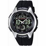Reloj Casio Aq-160w-1b Hombre Illuminator Envío Gratis