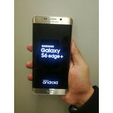 Ciberday Original Samsung S6 Edge Plus 32gb Libre Oro Dorado