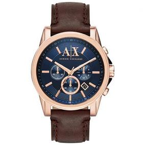 5fb94711aaaa2 Bracelete Original 100% Ax Armani Exchange Couro Com Caixa ...