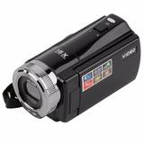 Filmadora Camara Digital 16mp Compacta Dv Dvr 2,7 Lcd Negro