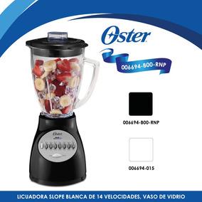 Licuadora 14 Velocidades Slope Blender Negra Oster 6694-b00