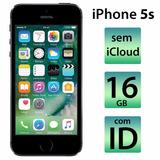 Iphone 5s 16gb Desbloqueado Do Icloud Bom Estado Com Id