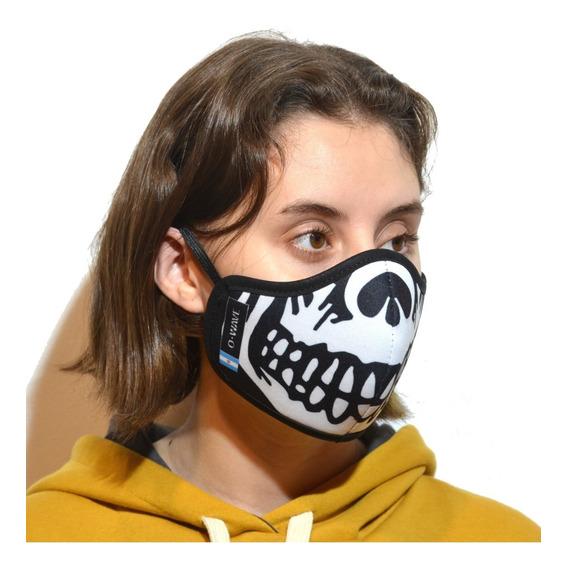 Barbijo Tapaboca Personajes Anti Polvo Gripe. Protección