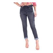 Calça Jeans  Mom Feminina Revanche Ruffe