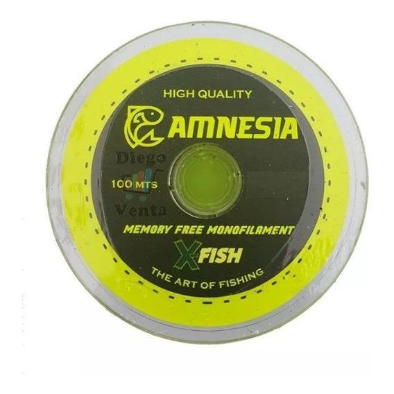 Tanza X Fish Amnesia 100mts Pesca Baja Memoria 030 040 050mm