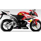 Kit Adesivo Moto Honda Cbr 600f 600rr 900rr 1000rr Todas