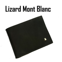 Cartera Mont Blanc Billfold Nuevo Modelo Lizard