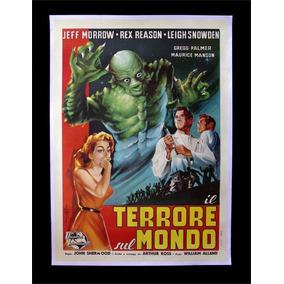 Cartaz Poster Decoração Vintage Retro Filme Terror Antigo A3