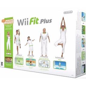 Wii Fit Plus - Wii - Jogo + Balance Board - Novo