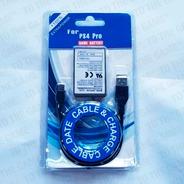 Bateria Alto Rendimiento Compatible Joystick Ps4 V2 + Cable
