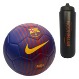 Kit Bola Futebol Campo Nike Barcelona Prestige + Squeeze a0d9c1b94f866