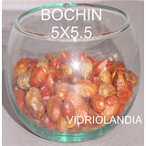 10 Bochines De Vidrio, Peceras Esferas Globos Souvenirs