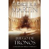 Libro Game Of Thrones Juego De Tronos
