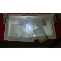 Mesa De Luz Para Calígrafos, Artesãos E Tatuadores