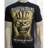 Camiseta Iron Maiden - The Book Of Souls - Edição Especial