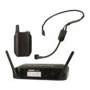 Microfone Shure Headset Sem Fio C/ Bateria Glxd14br/pga31-z