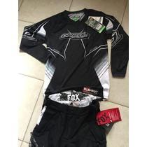 Traje Motocross Fox-oneal 28yxl Cuatrimoto Enduroatv Atv Rzr