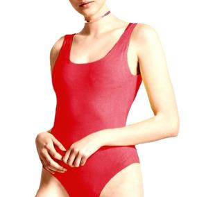Body Musculosa Con Cortes O Liso Modal Mujer Verano