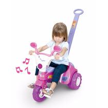 Triciclo Velotrol Infantil Empurrador Haste Baby - Cotiplás