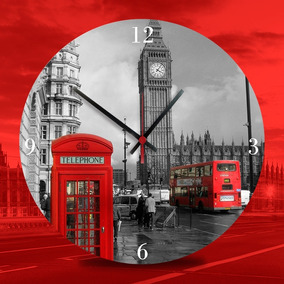 15435b44844 Relogio Estacao Londres London Grande - Relógios no Mercado Livre Brasil