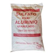 Sulfato De Aluminio 25 Kg Clarificador De Agua