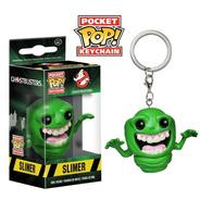 Pocket Pop Keychain Llavero Slimer Ghostbusters Funko